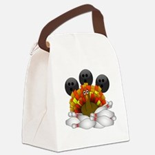 Cute Alley Canvas Lunch Bag