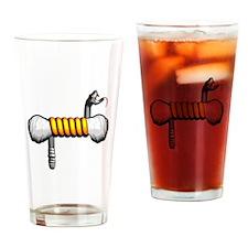 Don't Tread On Vaping Drinking Glass