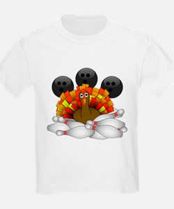 Bowling Strike! Bowling Turkey T-Shirt