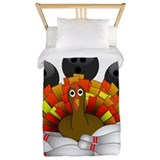Bowling turkey Twin Duvet Covers