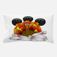 Bowling Strike! Bowling Turkey Pillow Case