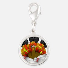 Bowling Strike! Bowling Turkey Charms