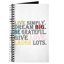 live simply Journal