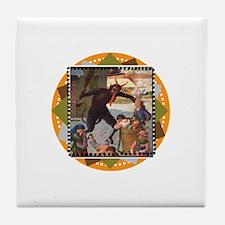 Krampus Whuppass Tile Coaster