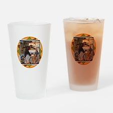 Krampus Whuppass Drinking Glass