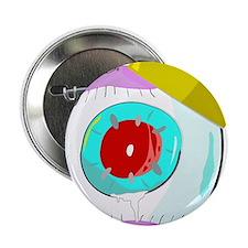 "King Red Eye Ball 2.25"" Button"