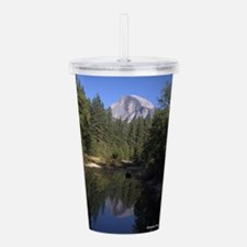 Hlaf Dome reflected in Acrylic Double-wall Tumbler
