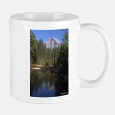 Hlaf Dome reflected in the Merced River, Yose Mugs