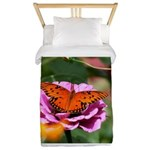 Monarch Butterfly Picture Twin Duvet