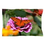 Monarch Butterfly Picture Pillow Case
