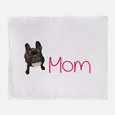 French bull dogs Throw Blanket