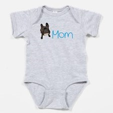 Cool French bull dogs Baby Bodysuit