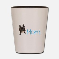 Cool French bull dogs Shot Glass