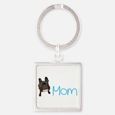 French bull dogs Square Keychain