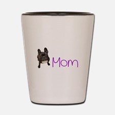 French bull dogs Shot Glass