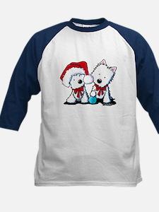 KiniArt Christmas Westies Tee