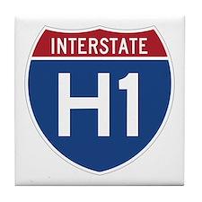 Interstate H1 Tile Coaster