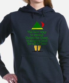 Cute Elf Women's Hooded Sweatshirt
