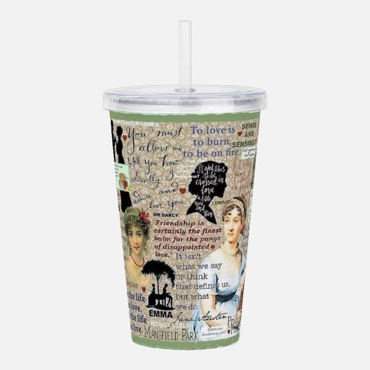 Austen Acrylic Double-Wall Tumbler