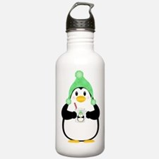 Penguin with Hot Cocoa Water Bottle