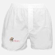 Cute Dog mom Boxer Shorts