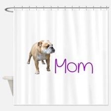 Unique American bulldog Shower Curtain