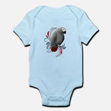 African Grey Body Suit