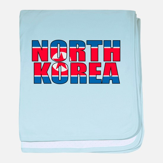 North Korea baby blanket