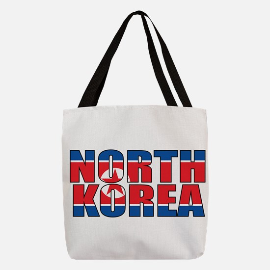 North Korea Polyester Tote Bag