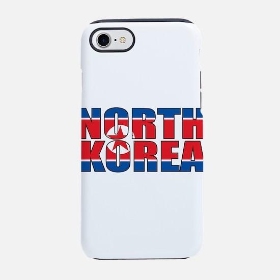 North Korea iPhone 8/7 Tough Case