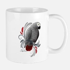 African Grey Mugs