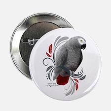 "African Grey 2.25"" Button"