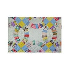 Cute Quilting patterns Rectangle Magnet