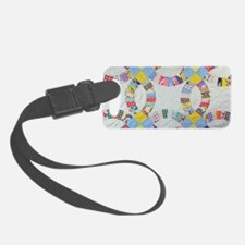 Cute Quilt Luggage Tag