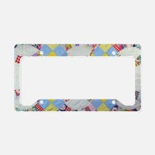 Cute Quilting License Plate Holder