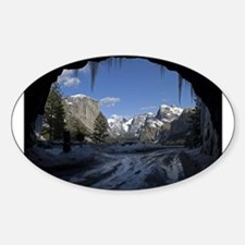 Yosemite's famous Tunnel View from the act Decal
