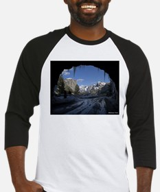 Yosemite's famous Tunnel View from Baseball Jersey