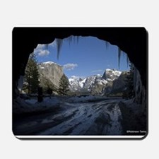 Yosemite's famous Tunnel View from the a Mousepad