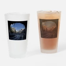 Yosemite's famous Tunnel View from Drinking Glass