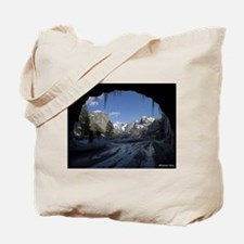 Yosemite's famous Tunnel View from the ac Tote Bag
