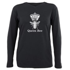 Queen Bee Plus Size Long Sleeve Tee