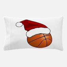 Christmas Basketball Pillow Case