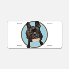 French bull dogs Aluminum License Plate