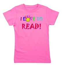 Cute I love to read Girl's Tee