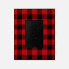 Red Plaid Picture Frame
