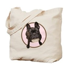 Funny French bull dogs Tote Bag