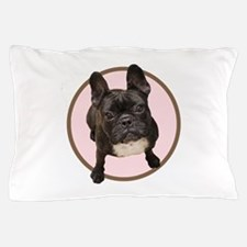 Funny French bulldog dogs bat ears Pillow Case