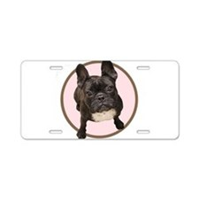 Cool English bull dogs Aluminum License Plate