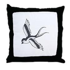 sparrowedit.JPG Throw Pillow