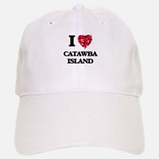 I love Catawba Island Ohio Baseball Baseball Cap